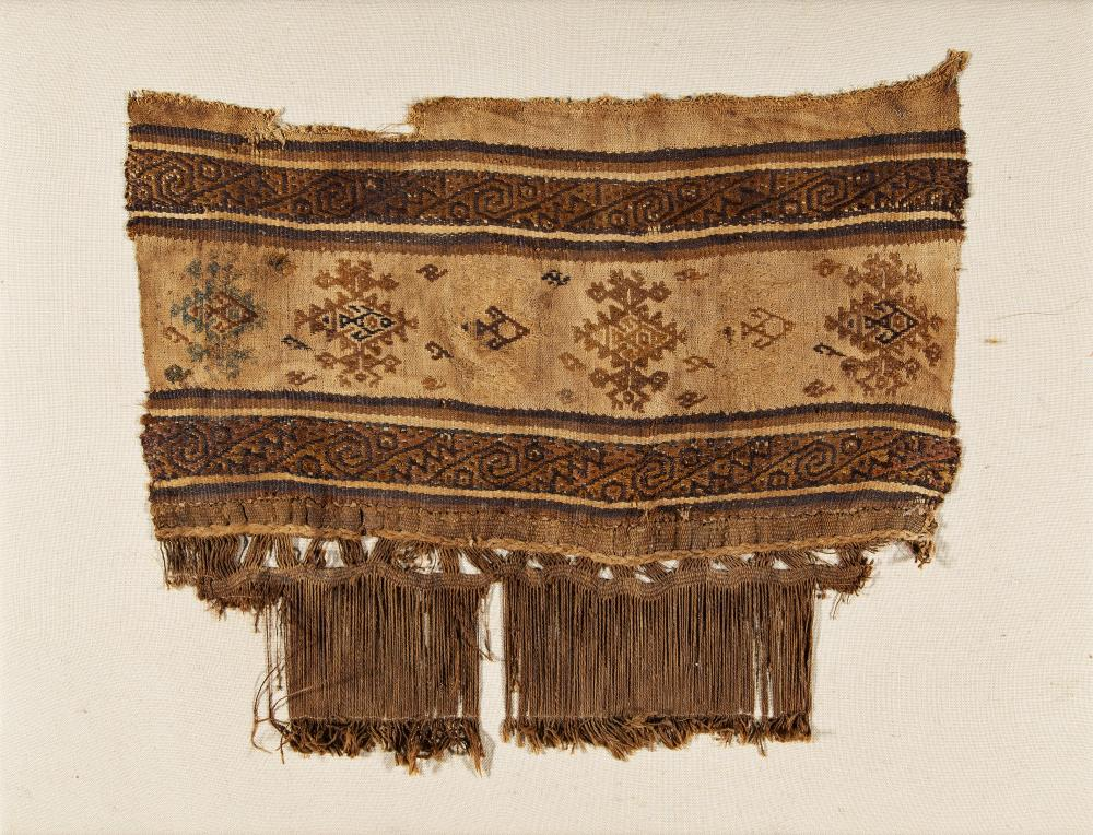 Fragment with elaborately designed border