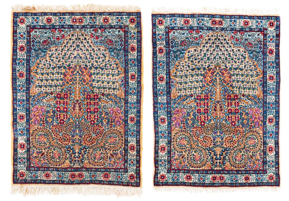 Pair of Kirman Poshti