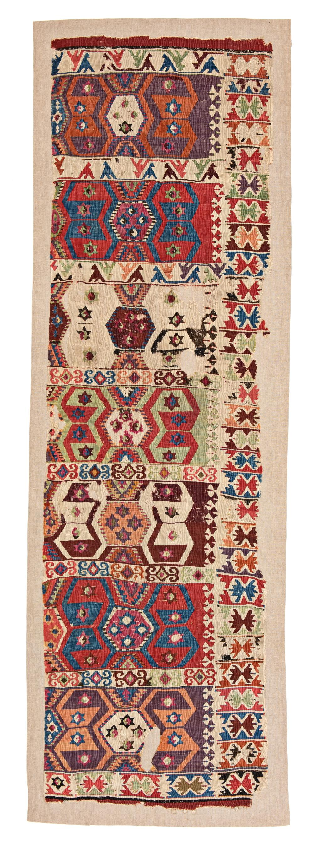 Central Anatolian Kilim Fragment