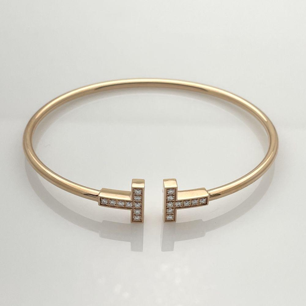 Tiffany & Co. Diamond Wire Bracelet