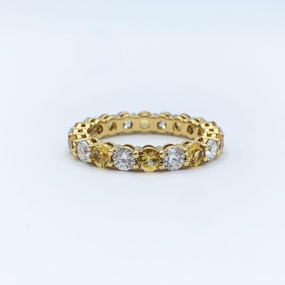 Tiffany & Co 18kt Yellow Gold White Diamond Yellow