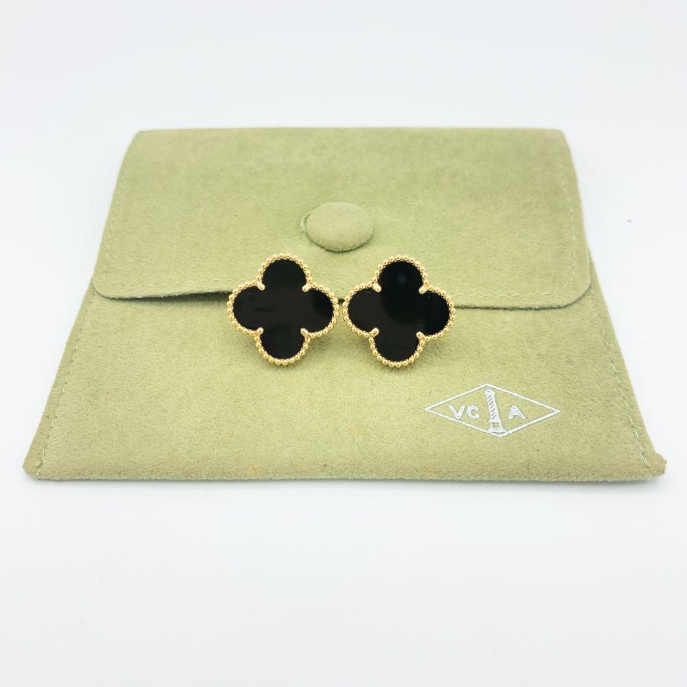 Van Cleef & Arpels Vintage Alhambra 18K Yellow Gold &