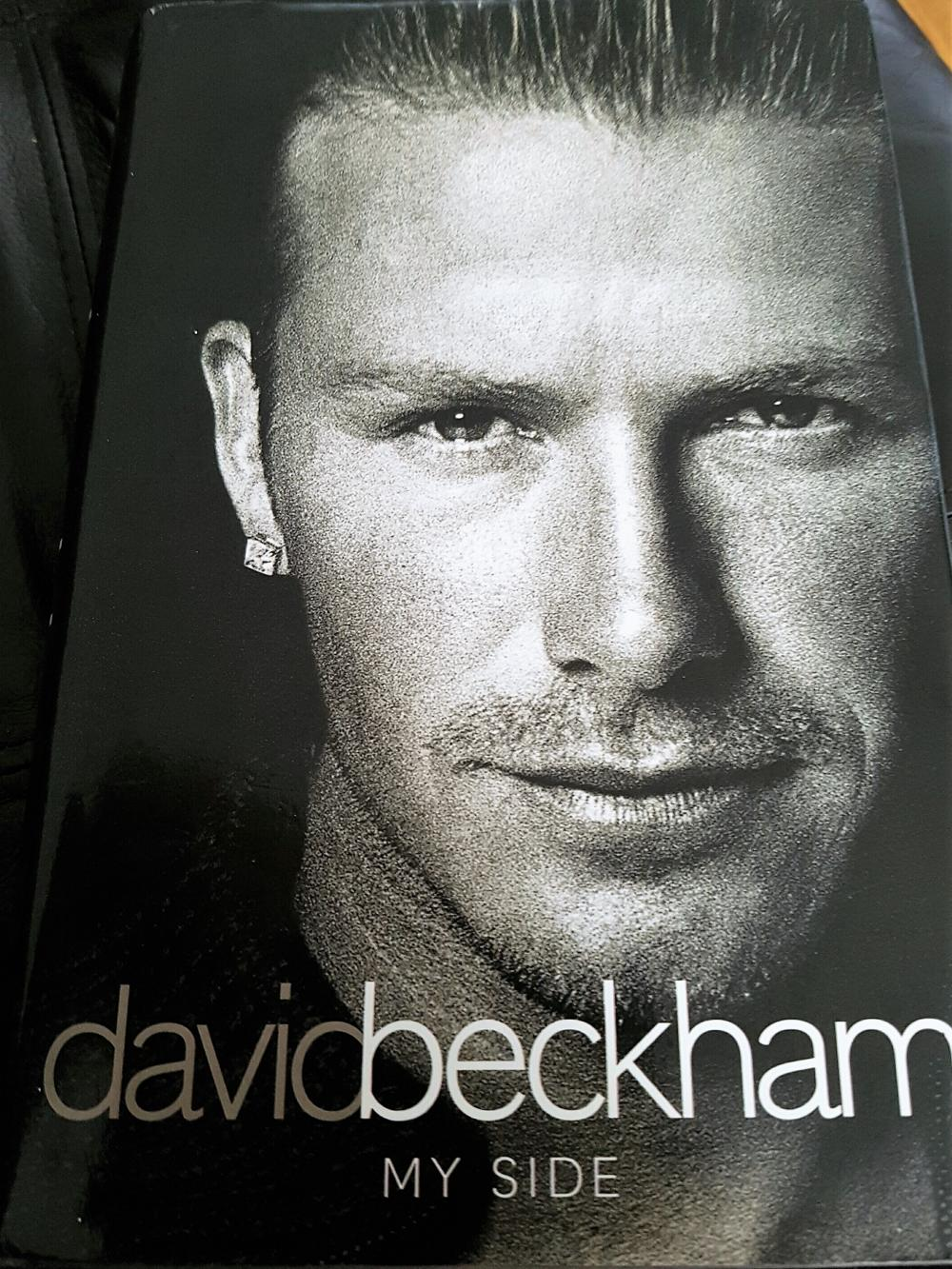 Lot 54 - David Robert Joseph Beckham, OBE born 2 May 1975 is an English former professional footballer. He played for Manchester United, Preston North End, Real Madrid, Milan, LA Galaxy, Paris Saint-Germain and the England national team