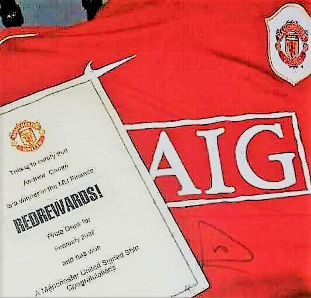 Lot 142: Signed Rio Ferdinand Manchester United Football Shirt. Rio Gavin Ferdinand (born 7 November 1978) is an English former professional footballer and current television pundit for BT Sport who played as a centre-back. He played 81 times for the