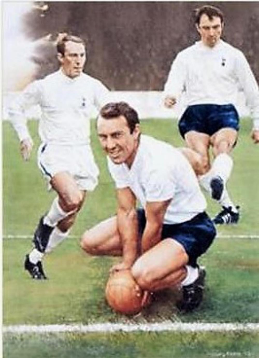 Lot 190; Spurs Jimmy Greaves signed limited fine art print + COA. This is one of a limited edition of 300