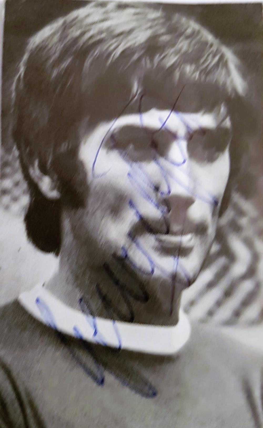 Lot 245: Small B/W newspaper picture of George Best (born on the 22 May 1946 – 25 November 2005) was a Northern Irish professional footballer who played as a winger for Manchester United and the Northern Ireland national team. In 1968, he won the