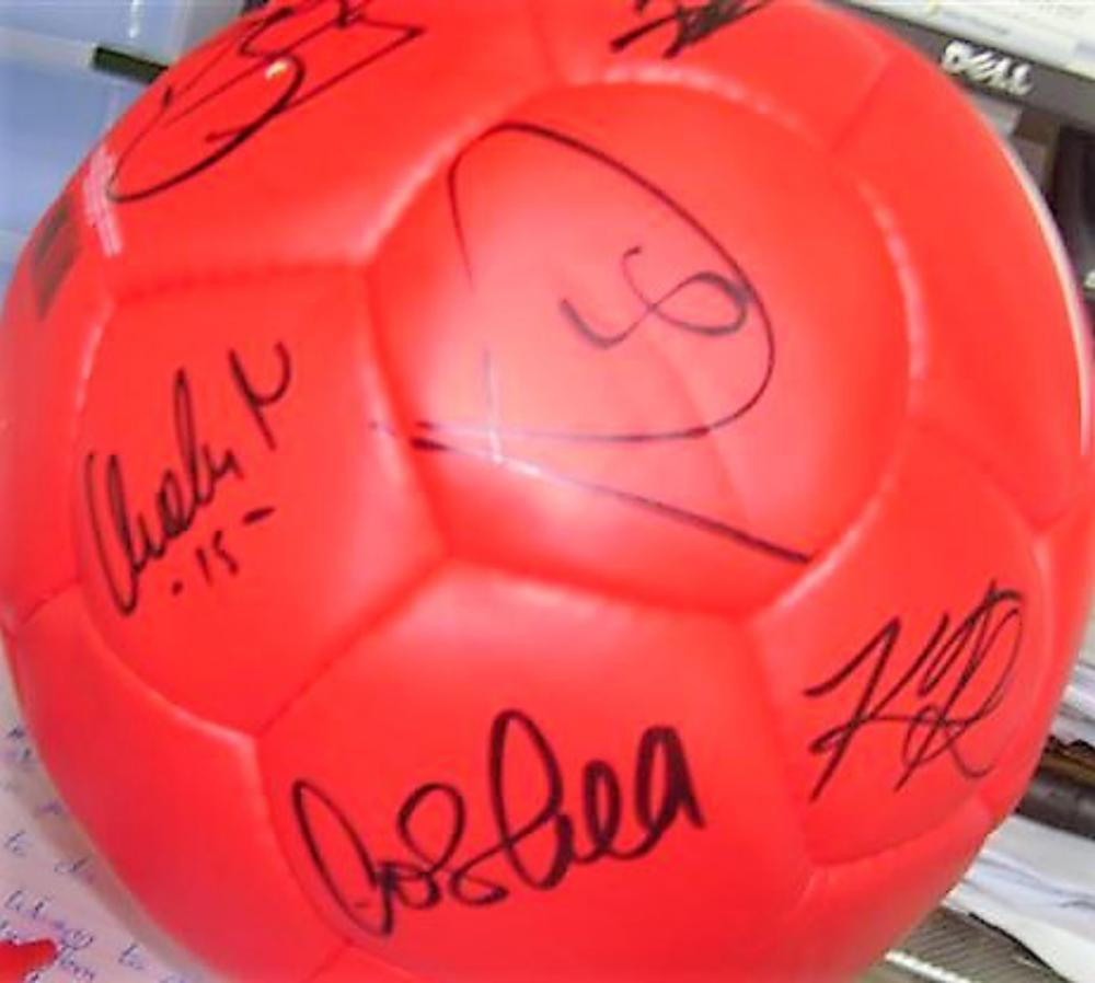 Lot 58 - Manchester United Signed Football. 2006-2007 Direct from the club and signed by the following First Team players