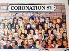 Lot 418 - Signed TV Memorabiilia - Coranation Street