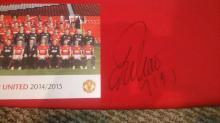 Falaco Manchester United Signed Football Shirt