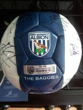 Signed West Brom Football from the Club