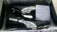 Signed pair of Wayne Bridge  Match ISSUE Puma Football Boots