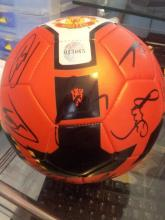 Signed Manchester United Football Direct from the Club