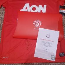 Rafael Manchester United Signed Football Shirt