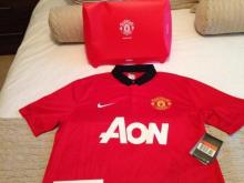 Tom Cleverley Signed Manchester United Football Shirt