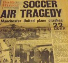 Manchester utd munich air crash