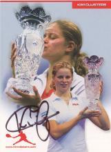 Autograph - Kim Clijsters - Tennis