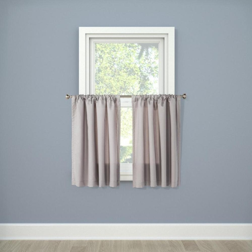 Room Essentials tier curtains