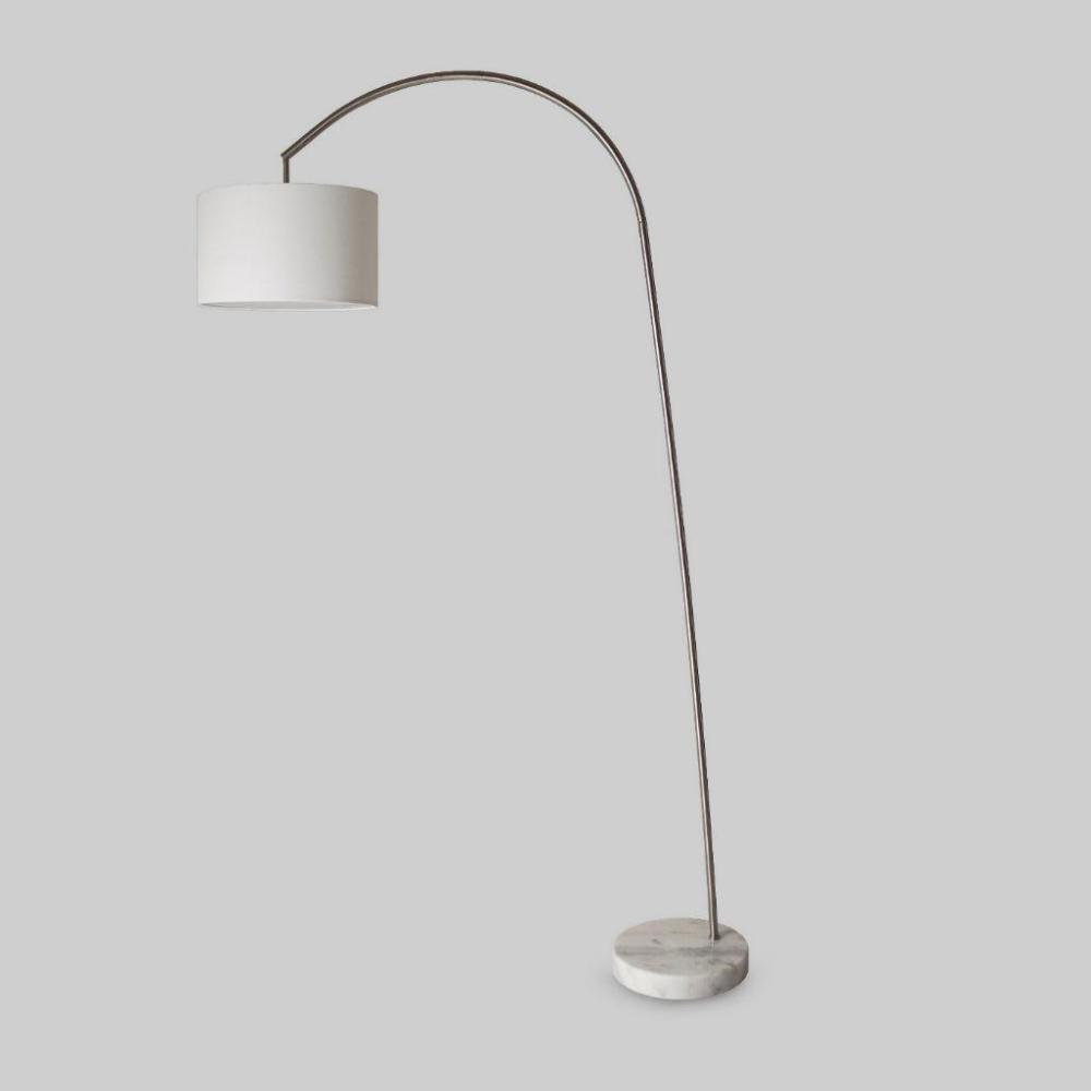 Arc Floor Lamp Silver
