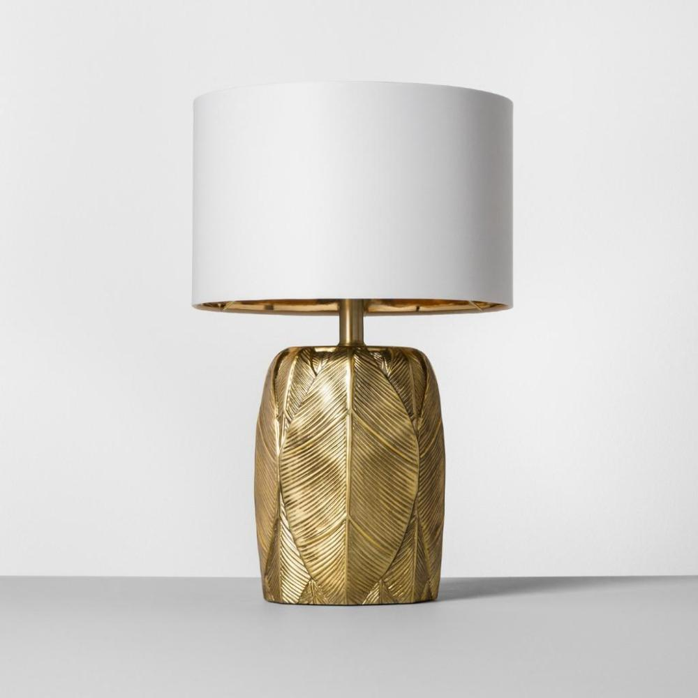 Leaf Table Lamp Gold - Opalhouse