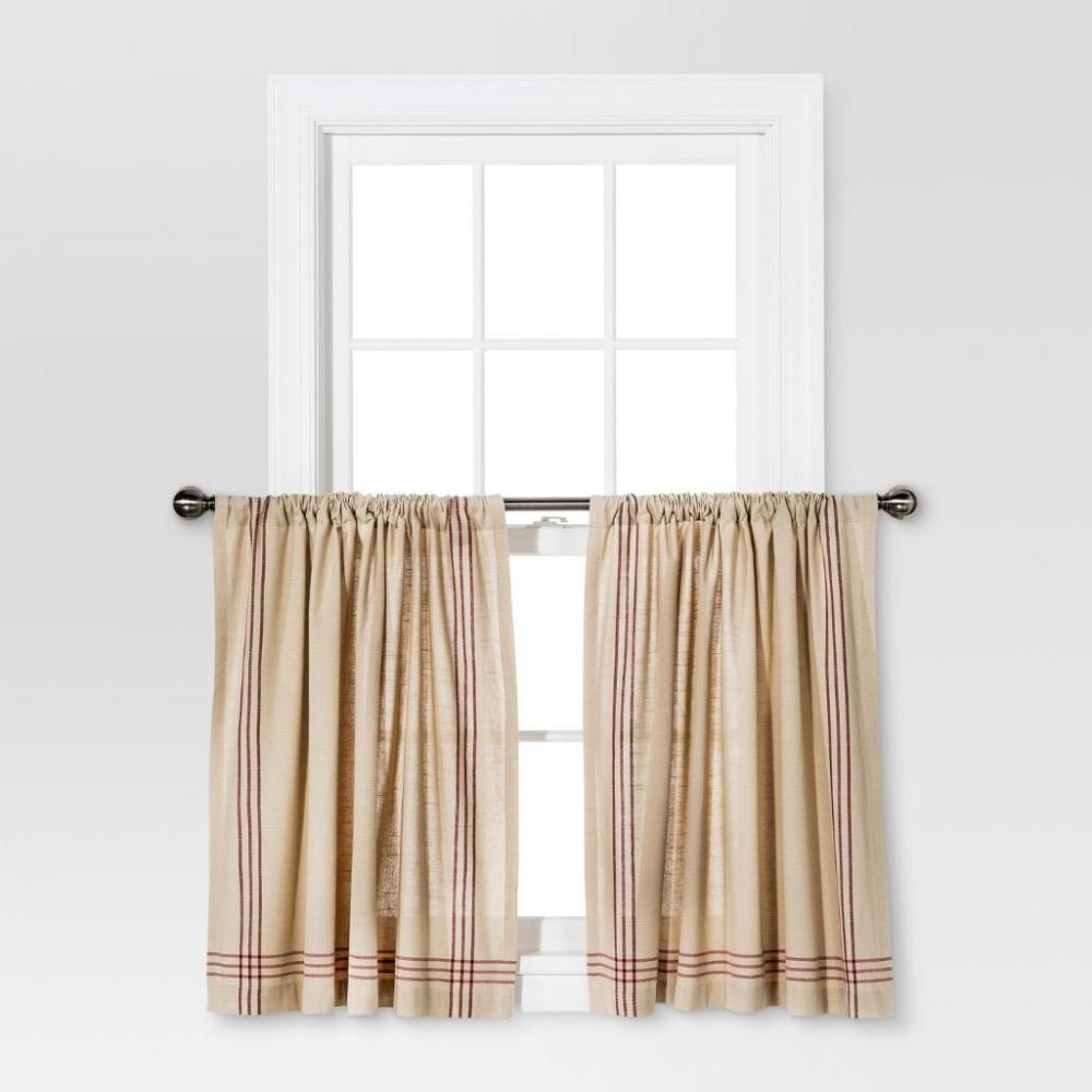 Curtain Tiers by Threshold