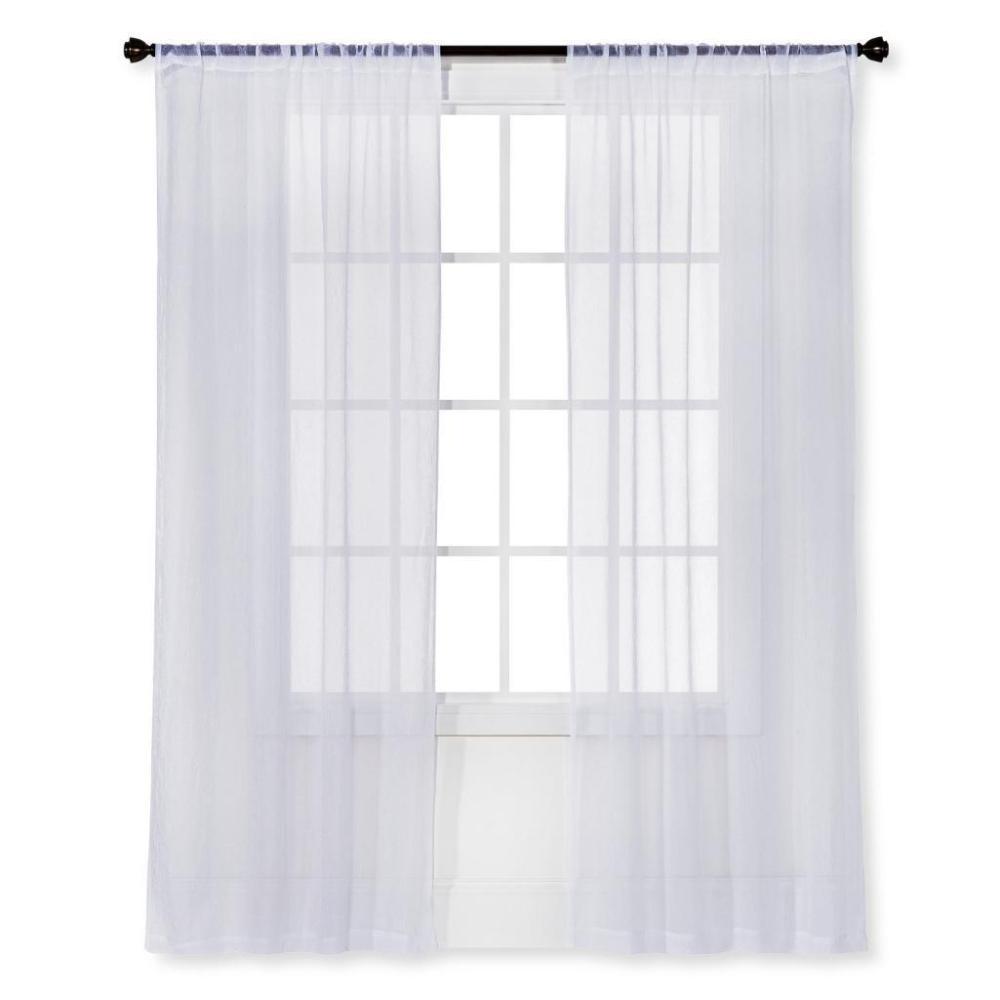 Room Essentials sheer curtains