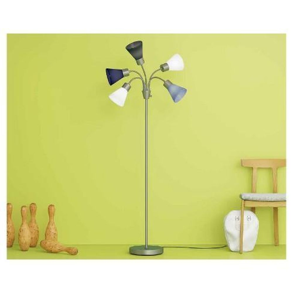 5 Shade Floor Lamp