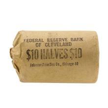 Roll of (20) 1963 Brilliant Uncirculated Franklin Half Dollar Silver Coins