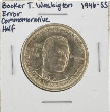 1946-S Booker T. Washington Commemorative Half Dollar Coin ERROR