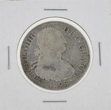 1798 MoFM Mexico 8 Reales Silver Coin