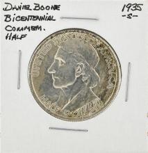 1935-S Daniel Boone Bicentennial Commemorative Half Dollar Coin