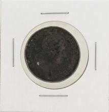 1723 1/2 Penny Hibernia Colonial Copper Coin