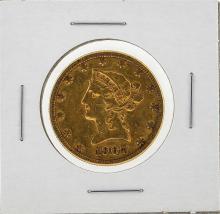 1907-S $10 Liberty Head Eagle Gold Coin