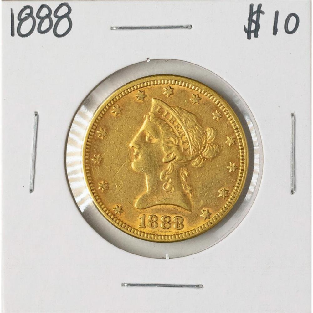 1888 $10 Liberty Head Eagle Gold Coin