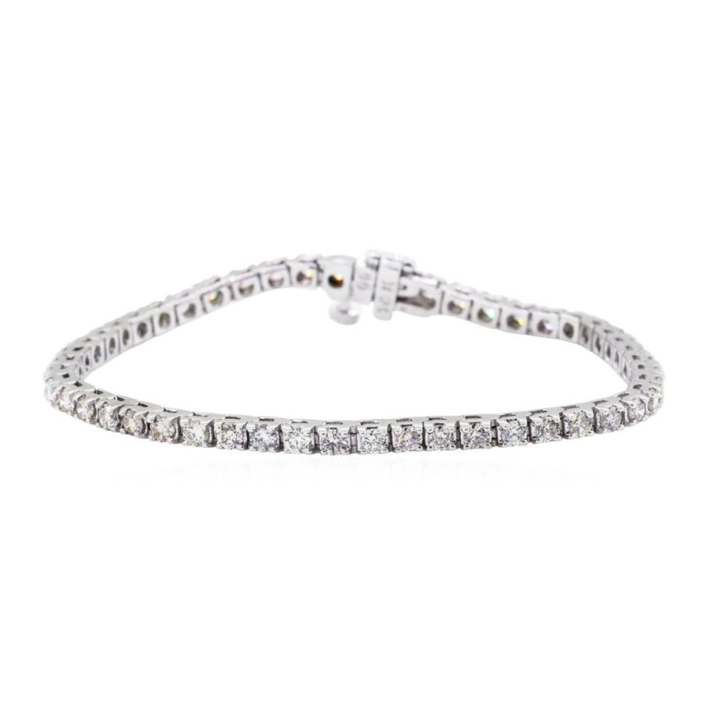 14KT White Gold 3.00 ctw Diamond Tennis Bracelet