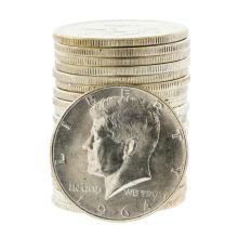 (20) 1964 Kennedy Half Dollar Coins