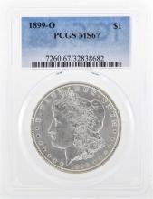 1899-O $1 Morgan Silver Dollar Coin PCGS MS67