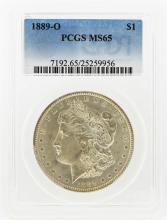 1889-O $1 Morgan Silver Dollar PCGS Graded MS65