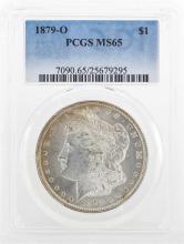 1879-O $1 Morgan Silver Dollar Coin PCGS MS65