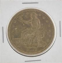 1876-S Trade Silver Dollar Coin
