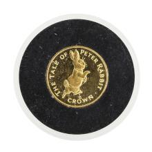 1995 Gibraltar Crown 1/10 Gold Coin