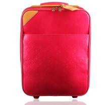 Authentic Louis Vuitton Vernis Rolling Suitcase Luggage Pink Rose Pop Pegase 45