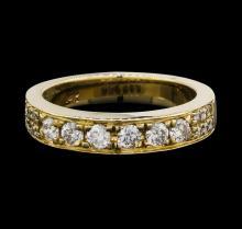 14KT Yellow Gold 0.60ctw Diamond Ring