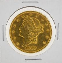 1878 $20 Liberty Head Double Eagle Gold Coin