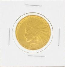 1907 NM $10 Indian Head Eagle Gold Coin