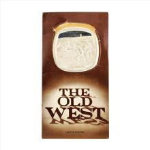 Lincoln Mint 4 oz. Old West The Pony Express Limited Edition Silver Proof Medal