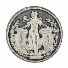 1888 Drentwett Munich Germany Art Exhibition Medal