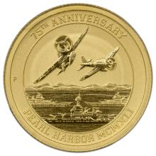 2016-P $15 Perth Mint Pearl Harbor Gold Coin