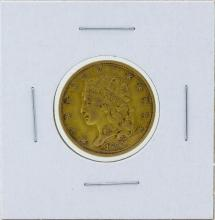 1834 $5 Capped Head Half Eagle Gold Coin