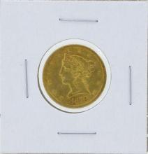 1878-S $5 Liberty Head Half Eagle Gold Coin