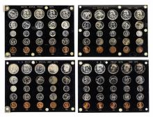 1955-1973 (5) Coin Proof Sets